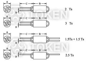 Inductor Filter Wide Band Choke Coils, Broadband Chokes (TCWB